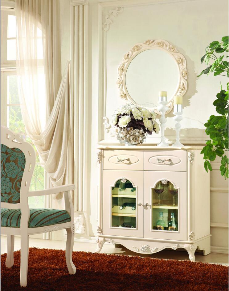 Gabinete de mesa de consola de estilo francés pfy10132