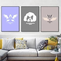 summoners war logo minimalist art posters and prints wall art canvas painting for living room decoration home decor unframed