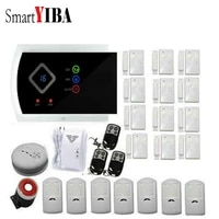 SmartYIBA     99 Zones sans fil GSM SMS  systeme de securite domestique filaire  sirene anti-cambriolage  voix espagnole russe tcheque