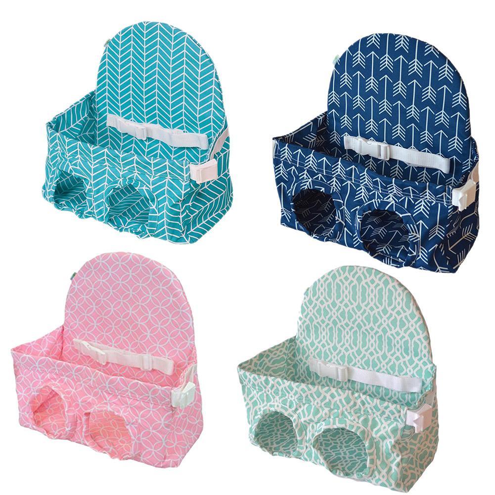 Fordable bebé niños carro de compras cojín Carro de bebé de compras carro protección del bebé cubierta de asiento de 4 colores