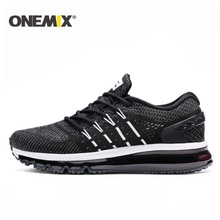 ONEMIX nouveau coussin dair chaussures de course hommes respirant coureur baskets hommes Sports de plein Air chaussures de marche pour hommes chaussures de Tennis femmes