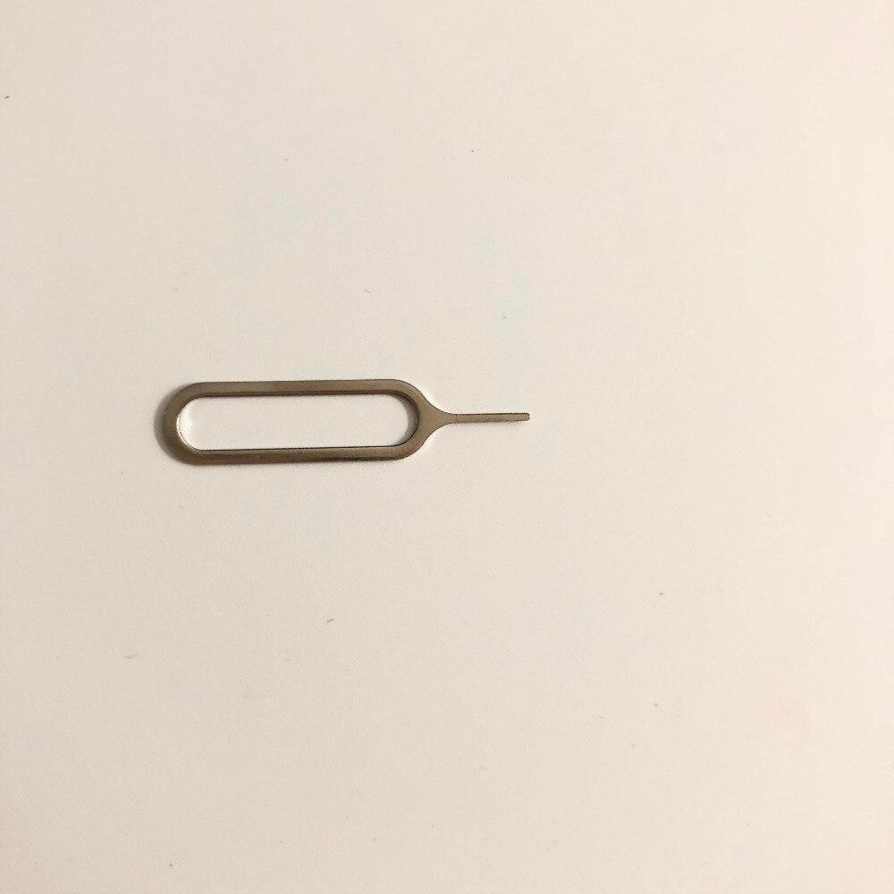 Aguja de manejo de Pin de expulsión de tarjeta SIM usada para OUKITEL K6000 Pro 5,5 pulgadas 1920x1080 MTK6753 + número de seguimiento