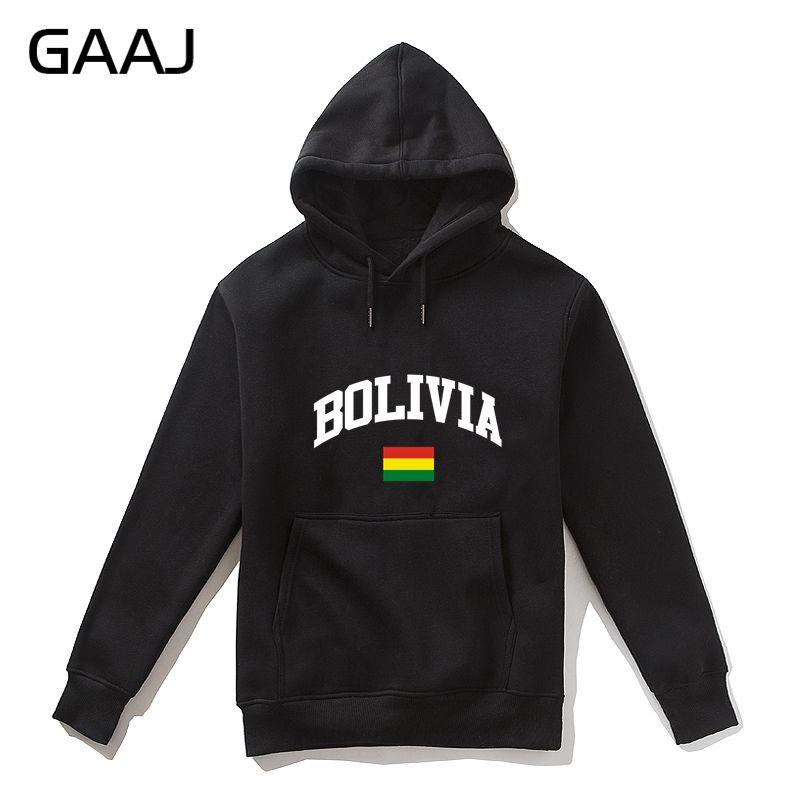 GAAJ, Sudadera con capucha de bandera boliviana para hombre, sudadera para mujer, ropa de marca, ropa para hombre, chaqueta de calle para hombre # 7420R