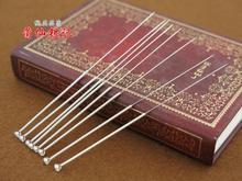 1 pièces 999 aiguilles dacupuncture chinoises en argent sterling pour prévenir les allergies