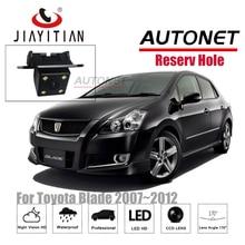 JIAYITIAN rear view camera For Toyota Blade 2007~2012 CCD/Night Vision/Reverse Camera/Backup Camera original reserved hole