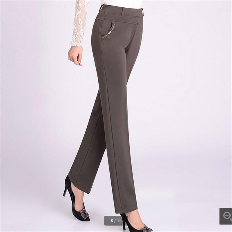 Fashion Casual pants women 2018 Long loose pants Tall waist Womens pants NEW Spring/autumn trousers women 5xl Stretch K3597