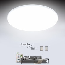 Plafonniers LED Ultra minces 15/20/30/50W plafond moderne à LEDs plafonniers Led pour léclairage de plafond de Led monté par Surface de salon