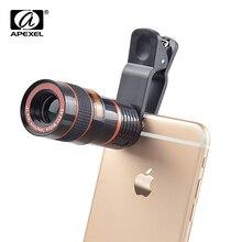 50 pcs/lot téléphone portable caméra Clip universel téléobjectif 8X Zoom télescopique pour Samsung Google Letv iPhone X SE 8 7 S CL-19B