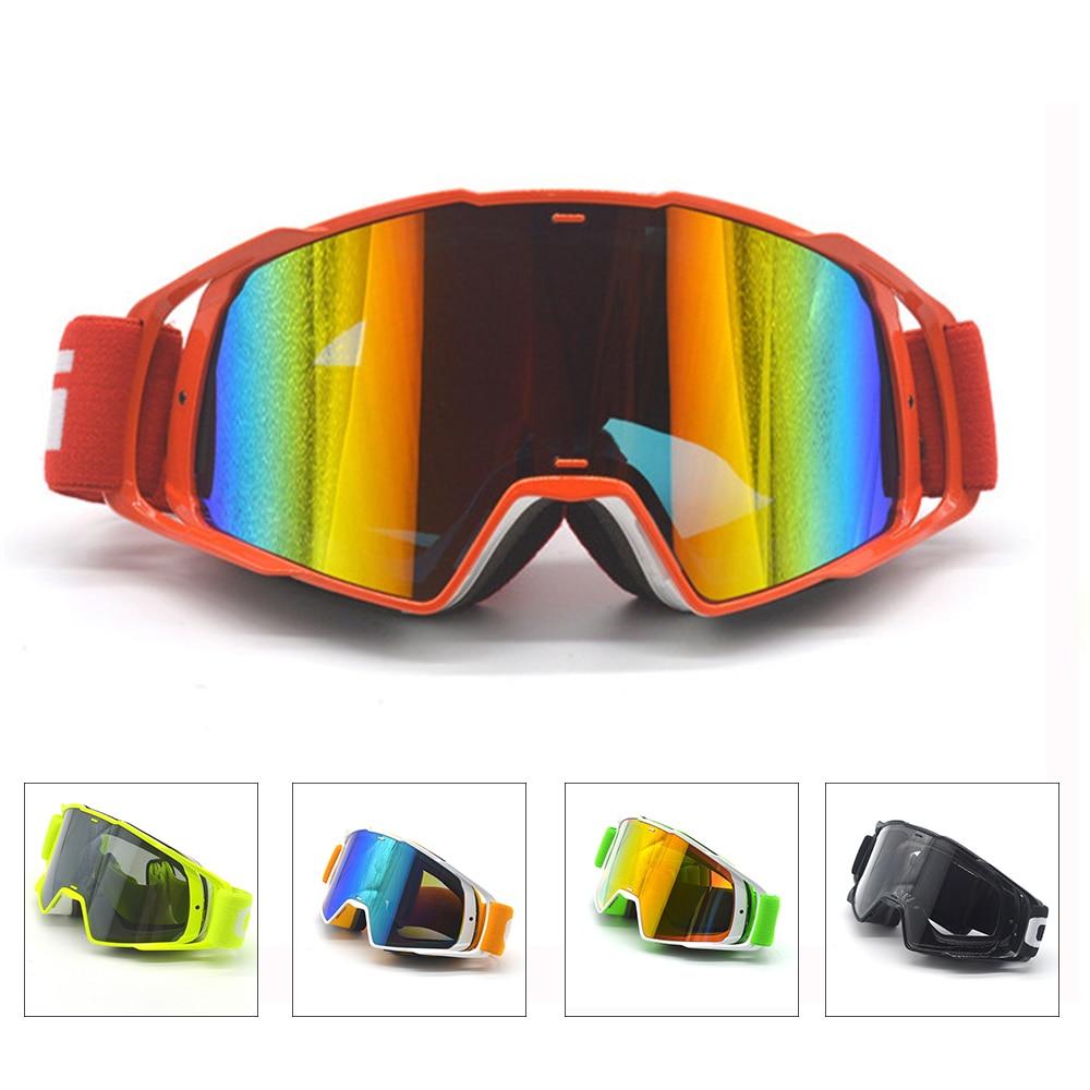 Evomosa Motorfiets Enduro Off-Road Winddicht Glazen Goggles Zonnebril Eyeware Lens Voor Fietsen Skiën Militaire Goggles