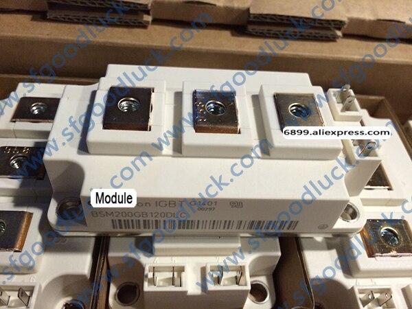 BSM200GB120DLC Transistor IGBT módulo N-CH 1200 V 420A 7-Pin 62 MM Peso: 340g