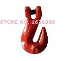 1,12. 3.15Ton G80 horquilla tomar gancho de grado industrial Equipo de aparejos elevador forjado de aleación de acero polipasto gancho de grúa cabrestante cadena