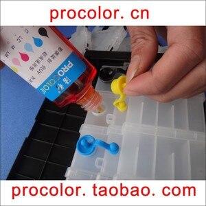 PROCOLOR T27# CISS ink Refill Dye ink special for EPSON WorkFore WF-7110DTW WF-7110 WF7110/WF-7610DWF/WF-7620DTWF WF-7620 WF7620