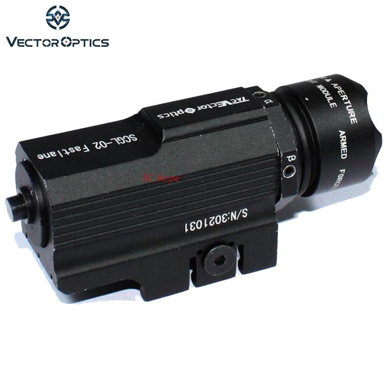 Sistema ótico do vetor fastlane pistola verde laser vista armelight com 150 lumens led lanterna adaptador ajuste glock 17 19