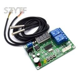 Alta precisão display digital sensor de temperatura controlador temperatura inteligente medidor diferença temperatura