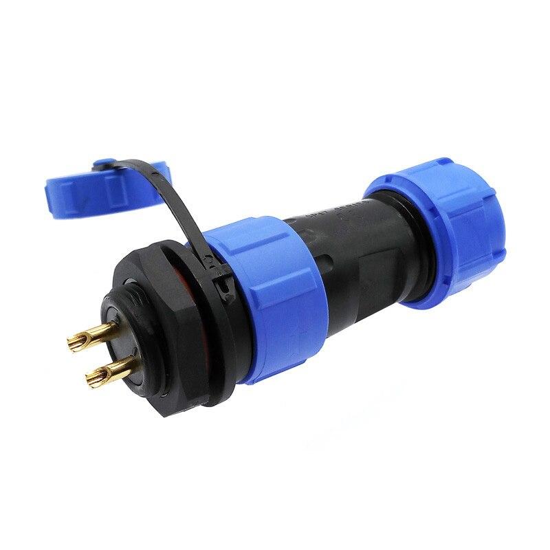 Водонепроницаемый разъем для задней гайки SP1710 SP1712, ip68 2 pin авиационные коннекторы sp17 3pin 4pin 5pin 7pin 9pin