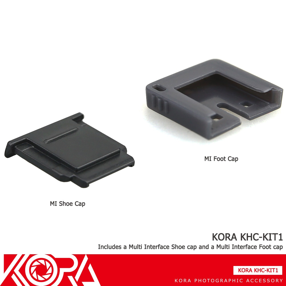 Kora cubierta para zapata para Sony A7RII A77II A7S A3500 A6000 RX10II RX100II RX1RII A7SII A6300 como FA-SHC1M MI zapato conector tapa