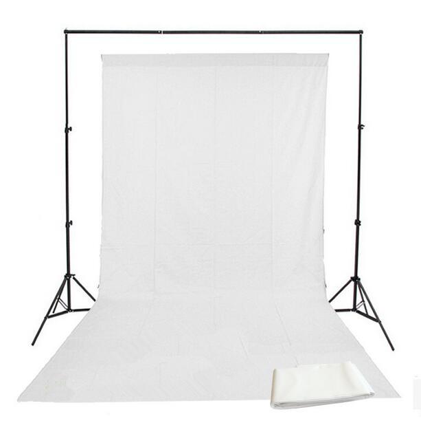 1.8 m x 2.7 m (6ftx9 pés) algodão photo studio pano de fundo branco musselina fotografia backdrops verde