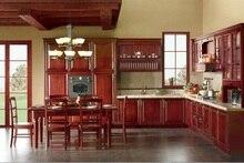 En bois massif démonter armoires de cuisine (LH-SW060)