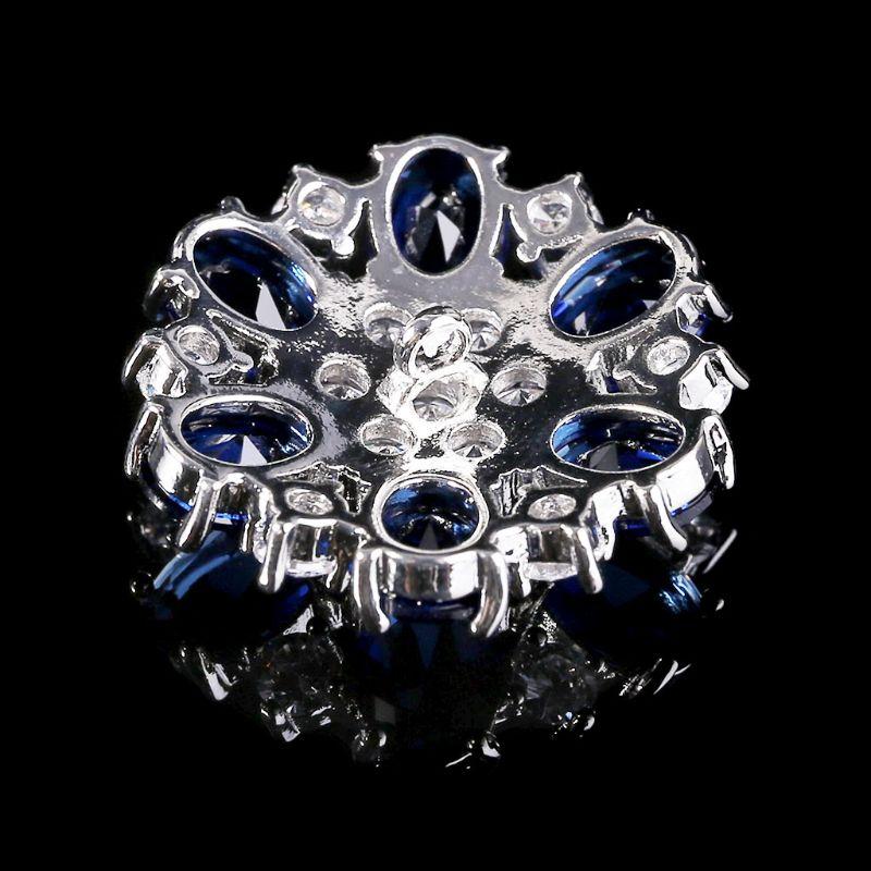 1 шт. 25 мм блеск горный хрусталь ювелирные изделия фольга форма декоративные кнопки с металлом петля хвостовик отверстие шитье зажим пряжка поделки поделки