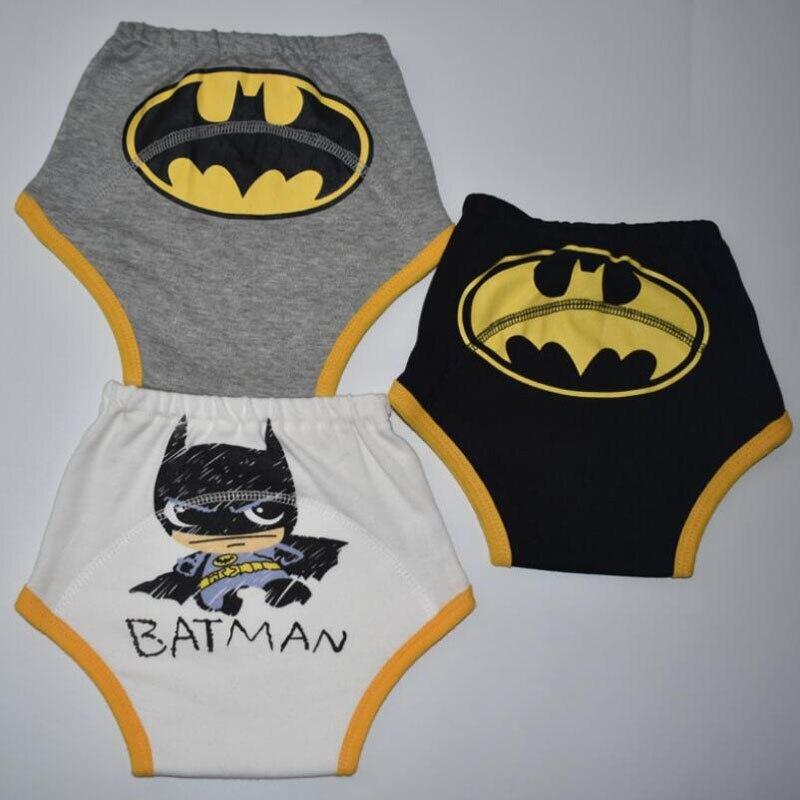 3 uds., orinal impermeable, pantalones de entrenamiento reutilizables para niños, ropa interior, pañal, insertos, ropa interior de inodoro de dibujos animados