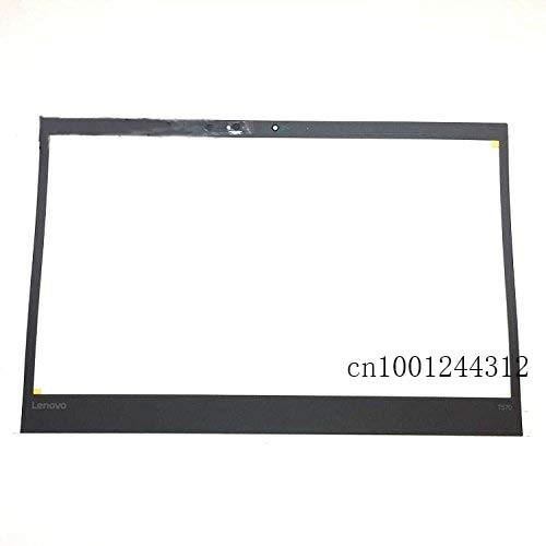 غطاء شاشة LCD أصلي جديد لـ LenovoThinkpad T570 ، وحاجز الإطار الأمامي مع فتحة كاميرا الأشعة تحت الحمراء