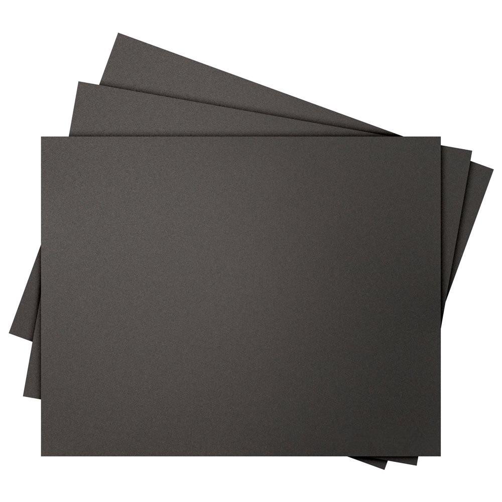 Funssor 5 uds * 3D superficie construir impresión pegatina 370X254mm para TEVO Viuda Negra 3D impresora cuadrado hoja negra hoja super stick hoja