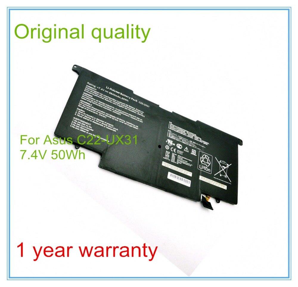 Nuevo Original de baterías para portátil y UX31 UX31A UX31E baterías C22-UX31...
