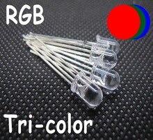 1000 perles rvb pcs 5mm 4pin tricolore Anode commune rouge vert bleu LED