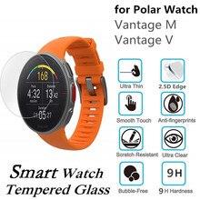 10PCS Tempered Glass for Polar Vantage M Screen Protector Scratch Resistant Protective Film for Polar Vantage V