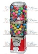 Máquina de escritorio operada por monedas de buena calidad, vendedor de dulces de mesa, máquina expendedora vertical de cápsulas grandes, vendedor de Penny-in-the-slot