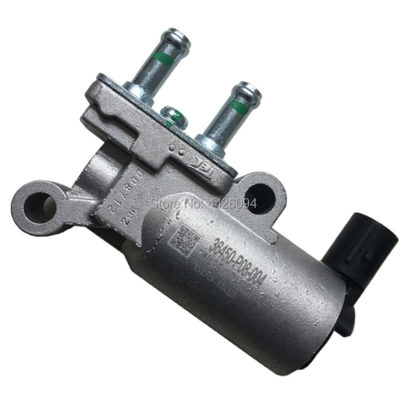 Válvula de controle de velocidade ociosa 36450-p08-004 válvula de controle de ar eletrônica de velocidade inativa 36450p08004