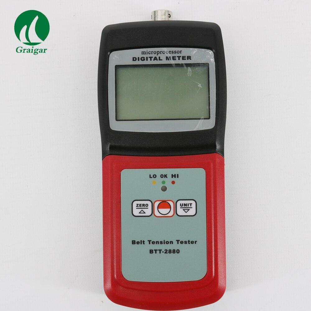 Nuevo BTT-2880 de medidor de tensión de correa con pantalla LCD