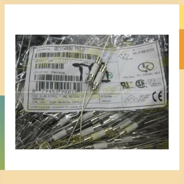 5X20 con fusible cerámico pin 5*20 fusible cerámico T8AH250V T8A 250V importaciones de EE. UU.