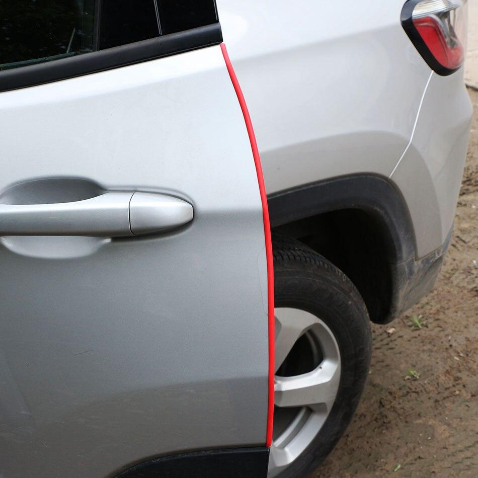 Jameo coche borde de la puerta cero Protector de para Peugeot 206, 207, 208, 301, 307, 308, 407, 408, 508, 2008, 3008, 4008 pegatinas