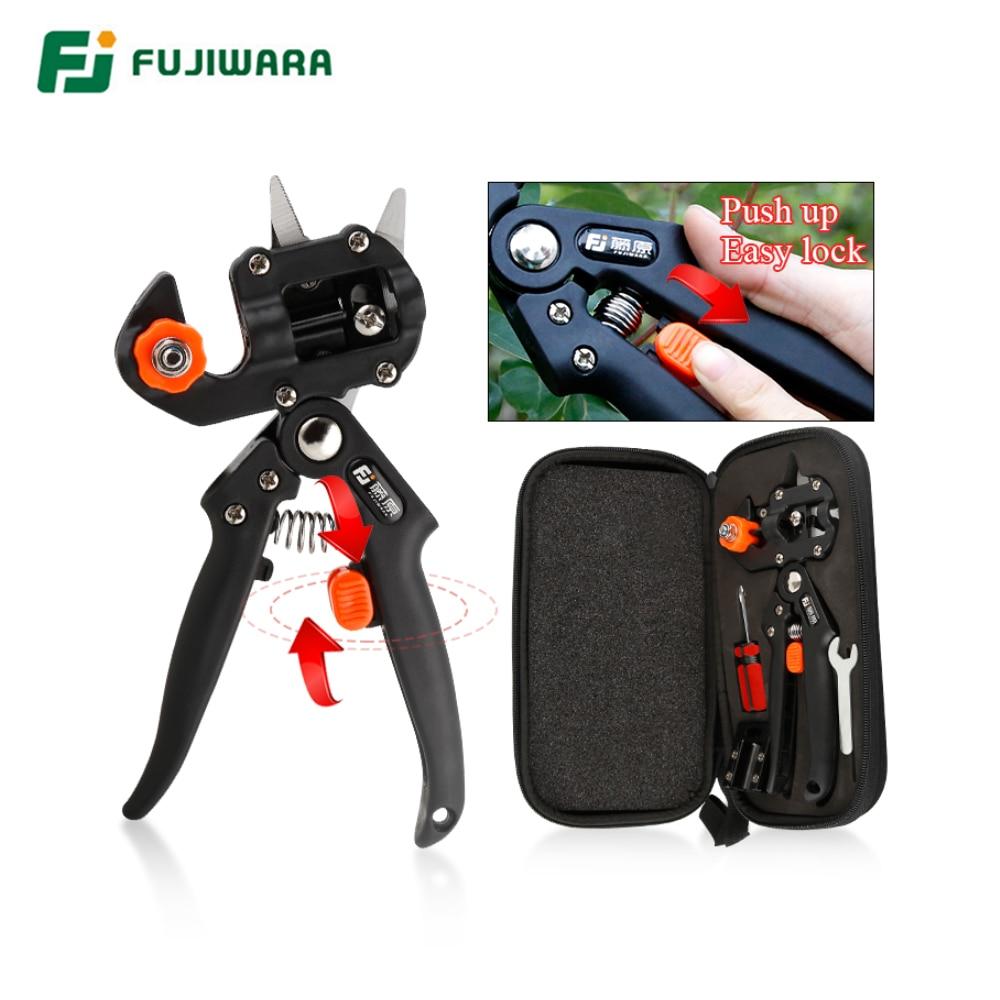 FUJIWARA ножницы для черенкования ножницы для прививки фруктового дерева Многофункциональный резак бутон 3 Styple Blade садовые инструменты