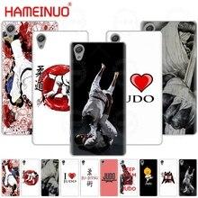 HAMEINUO japan judo sports Cover phone Case for sony xperia C6 XA1 XA2 XA ULTRA X XP L1 L2 X XZ1 compact XR/XZ PREMIUM