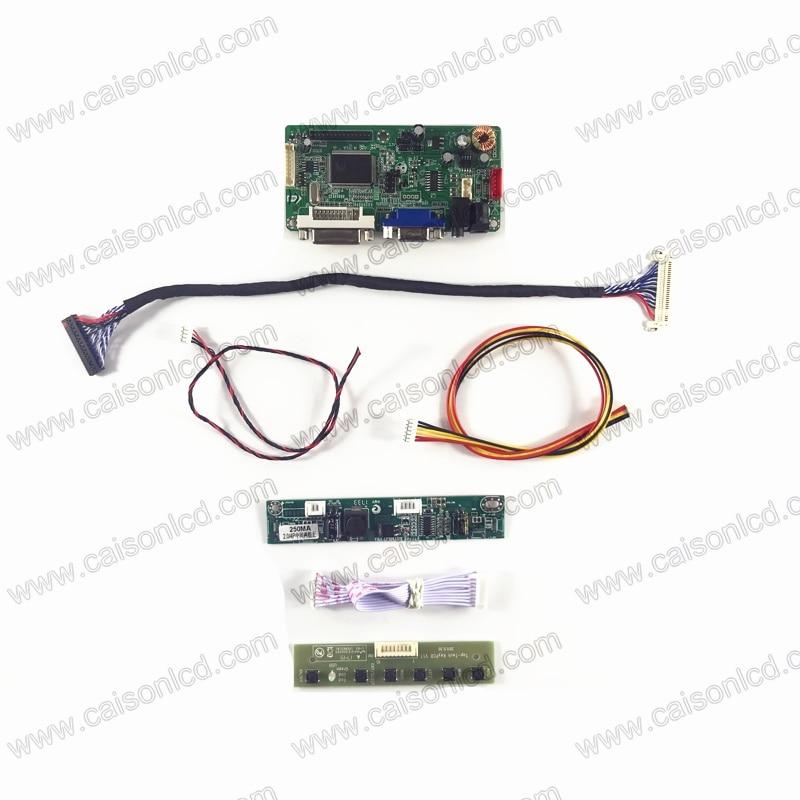 RTD2261 LCD تحكم مجلس دعم DVI VGA الصوت ل 23.8 بوصة LCD لوحة 1920x1080 MV238FHM-N30 LM238WF2-SSF1 LM238WF4-SSA1