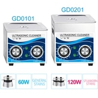stainless steel ultrasonic cleaner 120w heating water 1 3l bath temperature control household appliance washer jewelry circuit