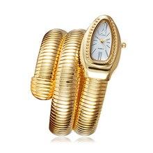 Cool serpent Bracelet montres femmes mode infini Bracelet Montre Vogue filles marque Quartz horloge Religios Reloj Montre femme