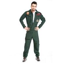 Umorden Halloween Costumes adulte pilote Costume uniforme fantaisie aile homme Cosplay Costumes aviateur vol Costume pour hommes