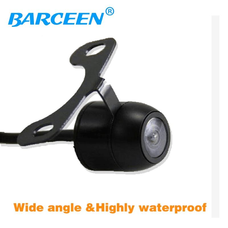 HD CCD cámara trasera de coche cámara de coche 170 ángulo cámara de visión trasera de coche asistencia de aparcamiento envío gratis
