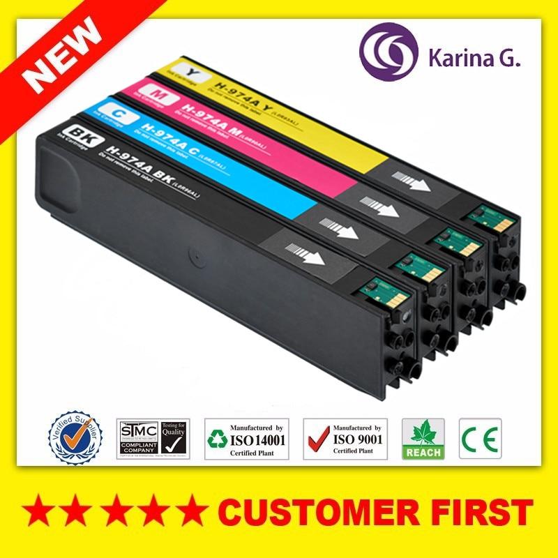 Cartucho de tinta compatível Para HP974 HP974A Compatível Para HP PageWide 352dw/377dw/452dw/477dw/552dw/ 577dw etc.