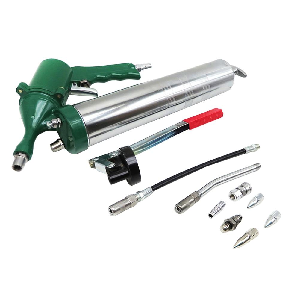 Aceite de acero de 400CC operado por aire, aceite Manual duradero para mantenimiento, herramienta de aire en línea automática, juego lubricador