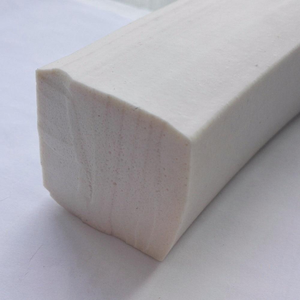 De silicona de esponja de espuma junta de barra de cuadrado 3x3mm 5x5x5mm 6x6mm 8mm x 8mm 10mm x 10mm 12x12mm 5x15mm, 20mm, 20x20x20mm 25mm 50x50mm extraño