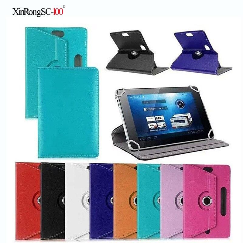Per Acer Iconia Tab B1-711 B1-720B1-721 B1-A71 7 pollici 360 Gradi di Rotazione Universale Tablet DELL'UNITÀ di ELABORAZIONE di caso della copertura del Cuoio
