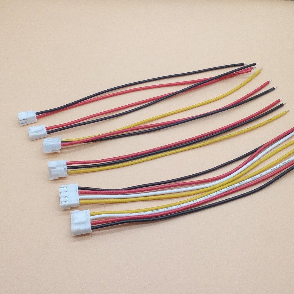 10 шт 3,96 мм VH кабель 20 см 2 P/3 P/4 P VH3.96 одиночный провод 200 мм длина