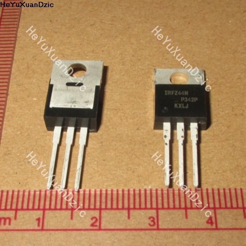 10 unids/lote IRFZ44NPBF IRFZ44N IRFZ44 a 55-220 V 49A Canal N MOS FET nuevo producto Original