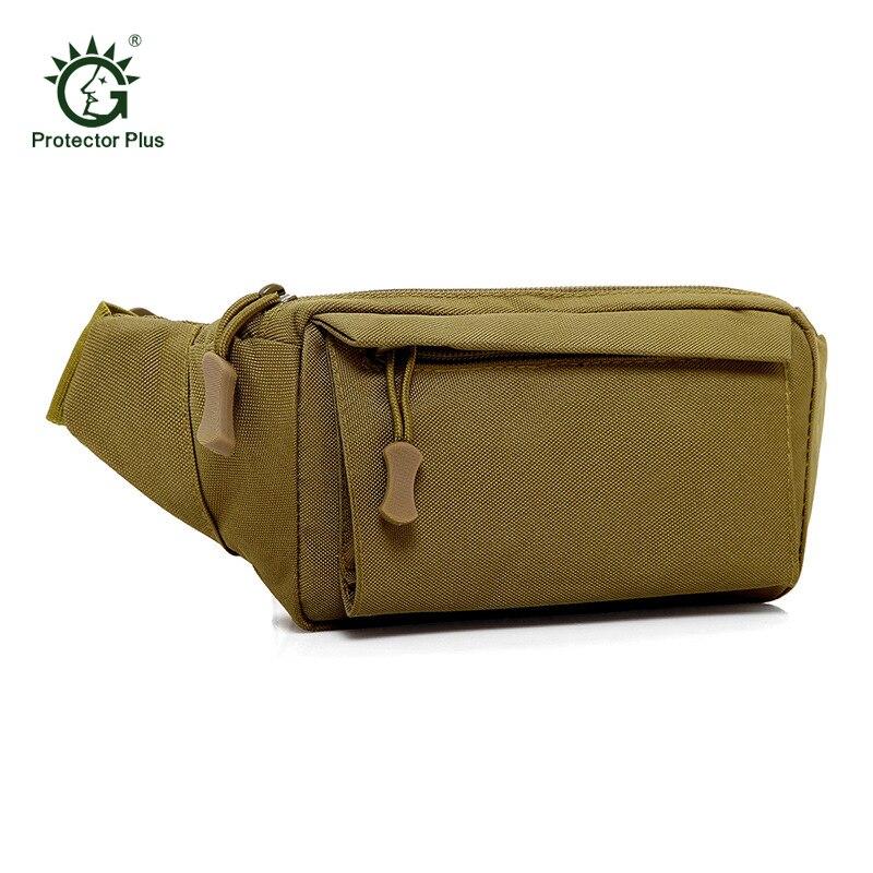 Bolsa de escalada al aire libre mochila Táctica militar resistente al desgaste Multi-Bolsillo Molle Camping paquete senderismo cintura bolsas mochila militar