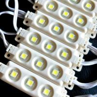 עמיד למים IP68 5050 SMD 3 LED מודול הזרקת אור רצועת מנורה חם לבן טהור לבן DC12V