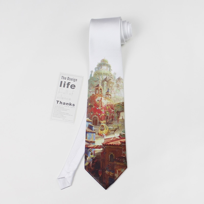 free shipping new casual fashion MEN'S male MAN Fashion Tie British Fan Groom Ceremony Dress printed Tie I LOVE HK 8CM necktie